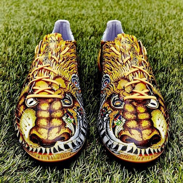 Eye Sore! Adidas new limited edition Yamamoto F50 boots, the fusion of 2 mythical beasts, are shockingly gaudy