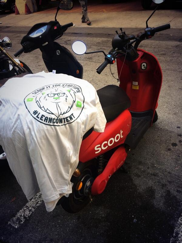 This is the best thing ever. RT @andresra: Who needs to crawl when you can scoot? #NewTechCrawl @ScootNetworks http://t.co/FHIoxbK3d5