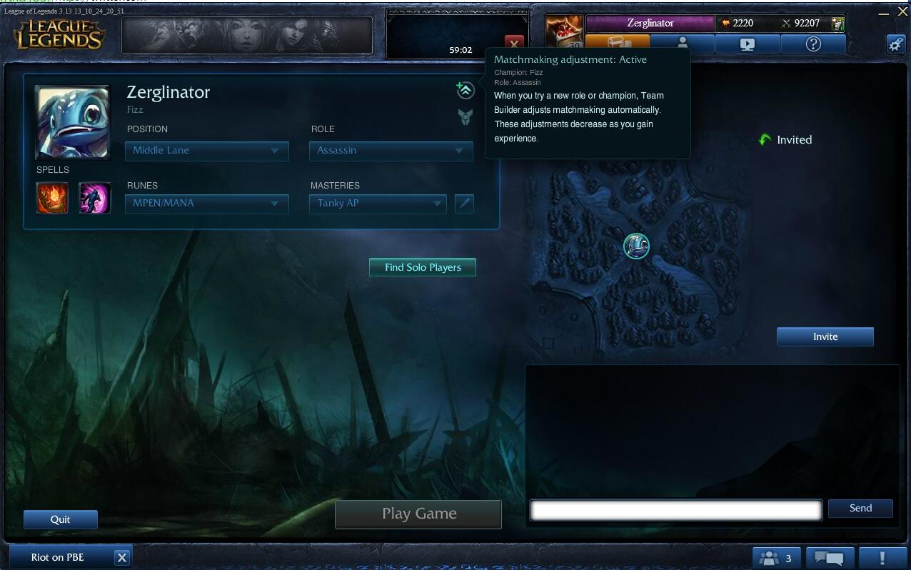 [Updated] Team Builder Available on PBE, Screenshots Inside