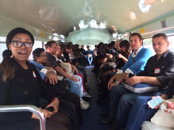 On the @teacherbus bound for @globant! #newtechcrawl #innovatesf #sfnt http://t.co/Q0mCEfHAOb