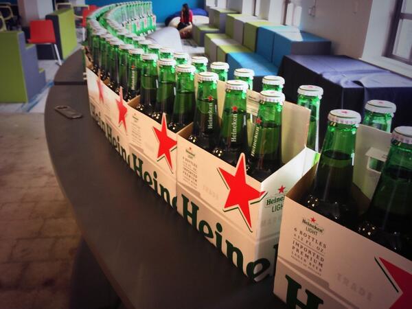 So. Much. Beer. #newtechcrawl http://t.co/RNtD4tjvkw
