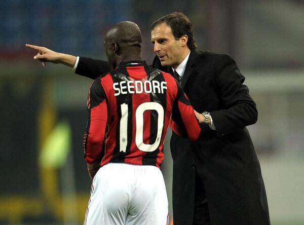 Clarence Seedorf set to be named new AC Milan coach on Thursday [Di Marzio]
