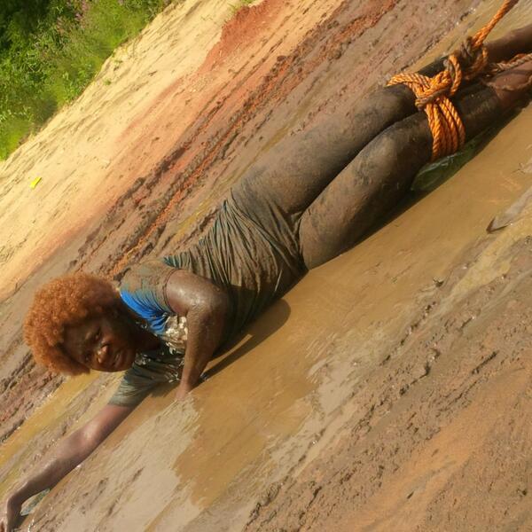BXgTNoqIUAAO4kK - Oh My God, Mercy Johnson Is Tortured, Dragged On The Floor (Photos)