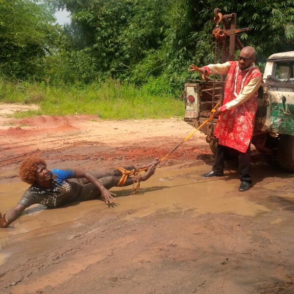 BXgVAKHIYAAgWmf - Oh My God, Mercy Johnson Is Tortured, Dragged On The Floor (Photos)