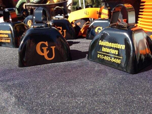 Make sure you pick up a cow bell at today's game. #morecowbell #GoCamels #CampbellHC http://t.co/GapdTT7MFm