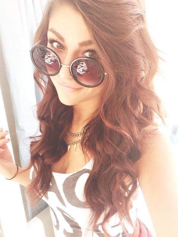 """Andrea Russett on Twitter: """"ma shades on http://t.co ..."""
