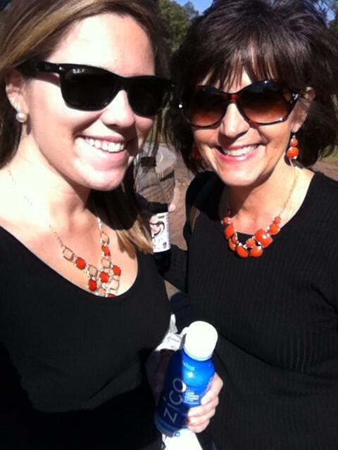My mom, a Campbell alumni! #Homecoming @campbelledu http://twitter.com/emilyyydrake/status/394265502065123328/photo/1