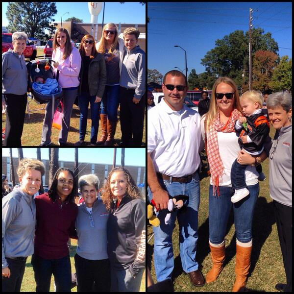 One of the best parts about Campbell homecoming is seeing more of our @GoCamelsWBB family! Love these former camels! http://twitter.com/CUCoachWatkins/status/394254410404364289/photo/1
