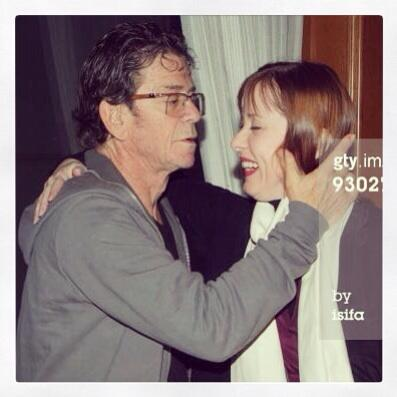 My dear friend Lou Reed RIP I will miss you terribly. http://twitter.com/suzyv/status/394582216530853889/photo/1