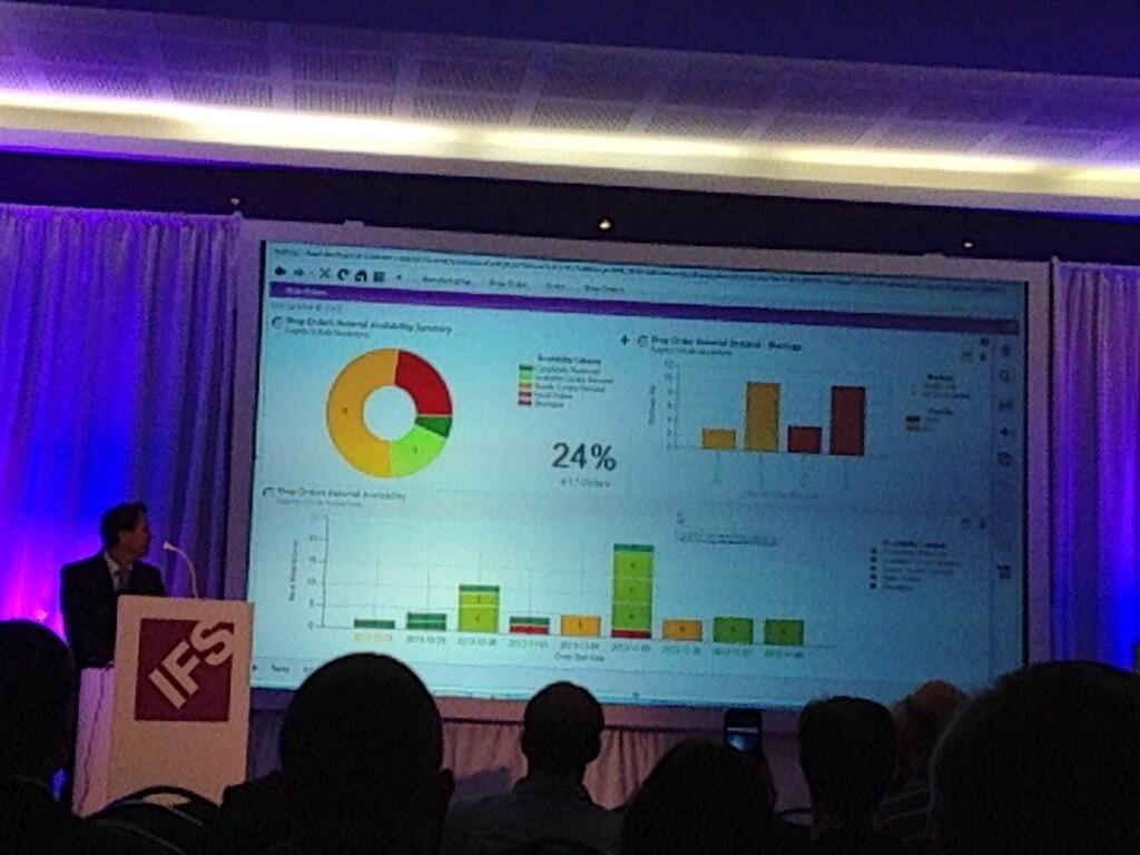 IFS manufacturing visualizer brings ERP data to life #ifsw13 http://t.co/TPqYbfXqNO