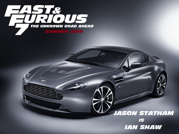Fastfamily On Twitter The Astonmartin V12 Is Probably The Car Of Jasonstatham In Fast7 Better Known As Ianshaw Ff7 Http T Co Hj13rw17e0