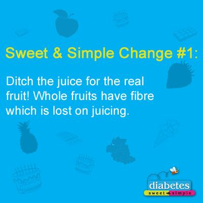 Choose fruit over juice! Store-bought juices may contain unhealthy amounts of #sugar and preservatives. http://t.co/eMq4jCsJz3