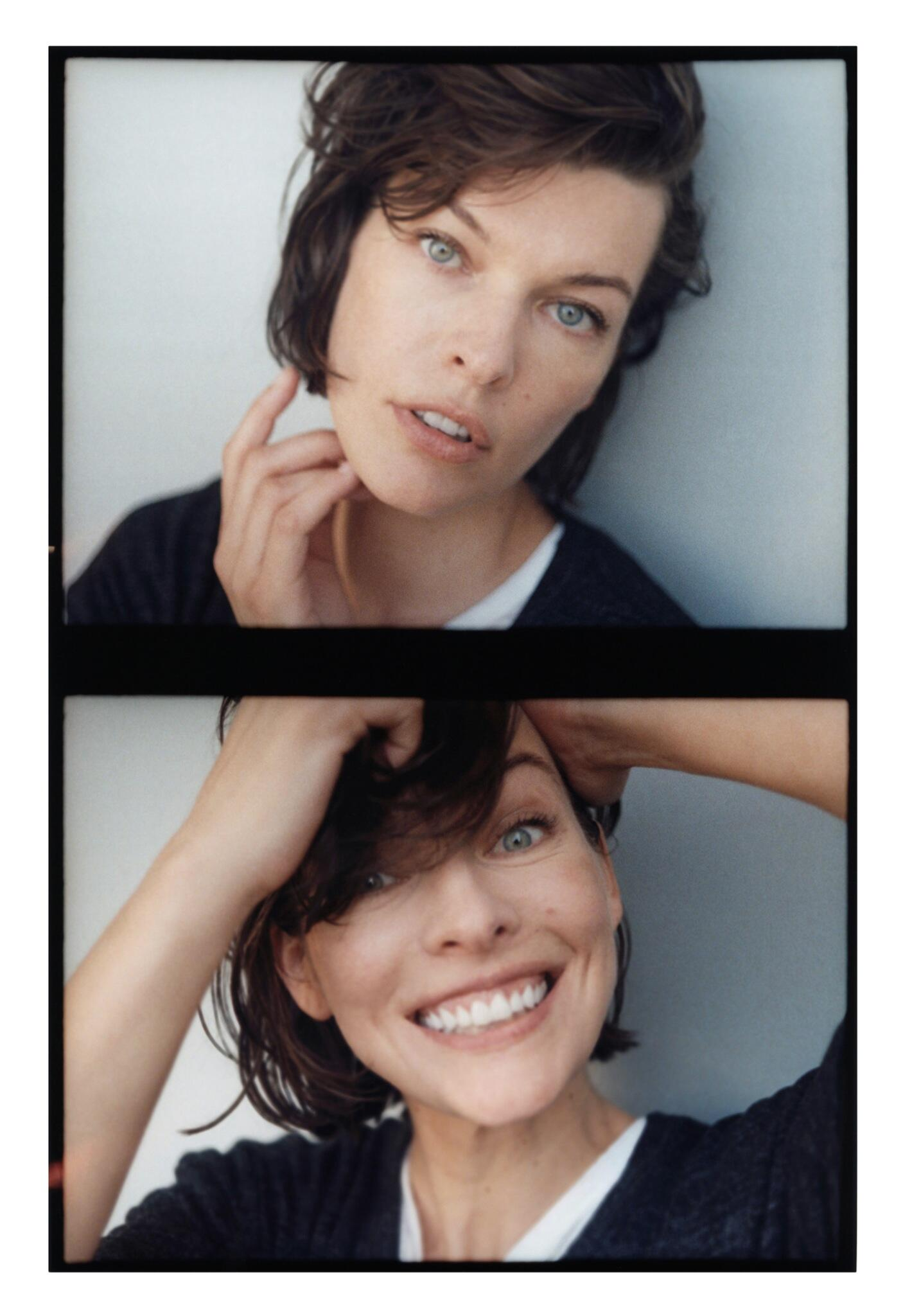 Twitter / hm: Beautiful @MillaJovovich having ...
