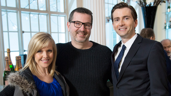 David Tennant with David Wolstencroft and Ashley Jensem