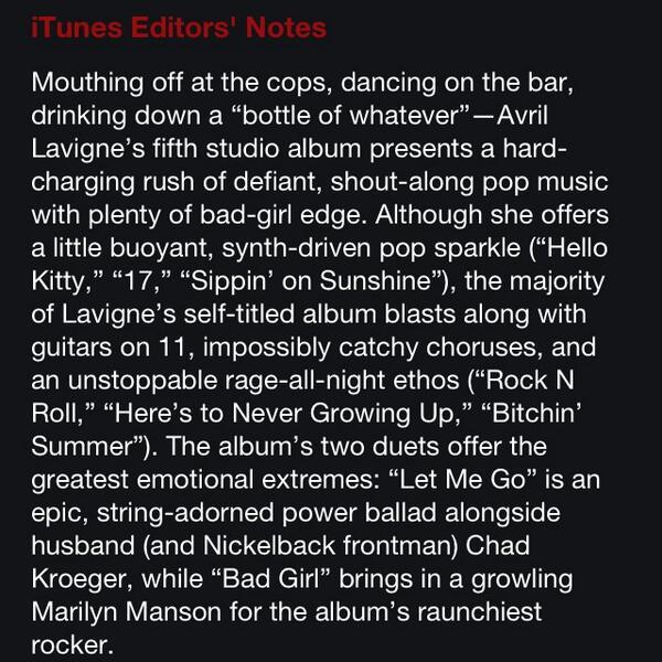 "Álbum » ""Avril Lavigne"" [6] - Página 26 BXt6fDjCMAAxKIu"