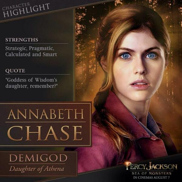 Percy Jackson Sea Of Monsters Annabeth Chase