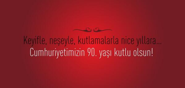 29 Ekim Cumhuriyet Bayramı'mızı Kutlarız. http://t.co/ChkCEvIX8R