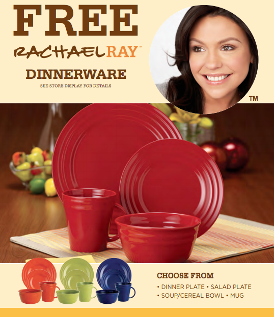Jewel-Osco on Twitter \ FREE Rachael Ray Dinnerware! Earn a st& for every $10 you spend! More details //t.co/3lVOpI616g //t.co/3IYEuMAeVE\   sc 1 st  Twitter & Jewel-Osco on Twitter: \