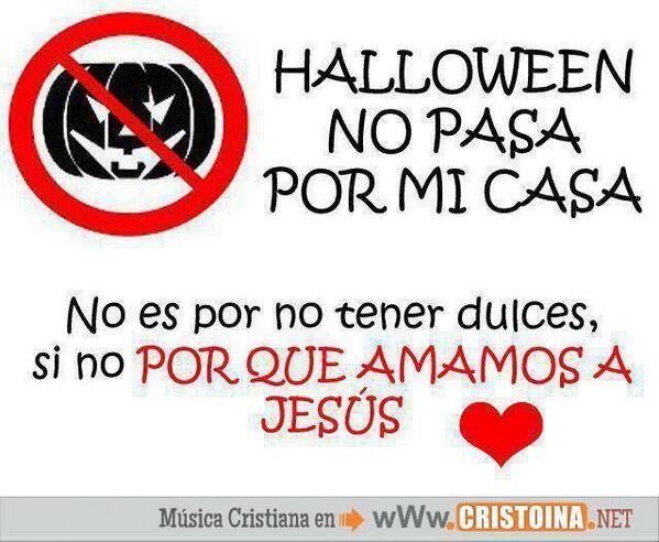 sierva y princesa on twitter los cristianos no participamos en halloween dile no a esta practica pagana cristo te ama httptcov3czf13qyr