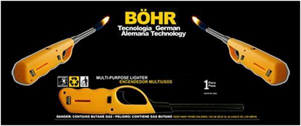 Para estas fechas evita accidentes y olvídate de los cerillos utiliza Bohr marca alemana reconocida a nivel mundial. http://t.co/TBtWoRddEF