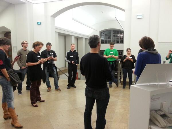 Begrüßung durchs Museumsteam @LindenMuseum #kultup http://t.co/LBoxhLo2yR