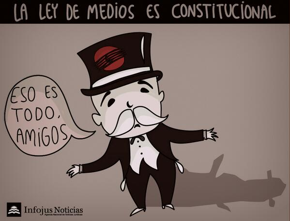 Thumbnail for #LeydeMediosConstitucional