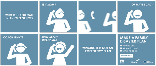 readygov on twitter winging it is not a family emergency plan