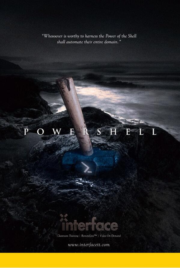 PowerShell Training Magazine - Magazine cover