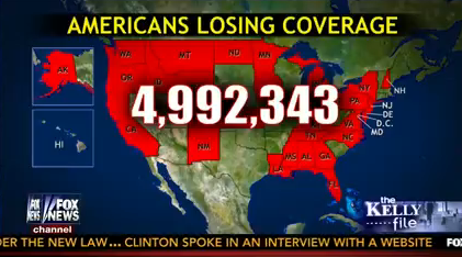 At least 5 million losing coverage
