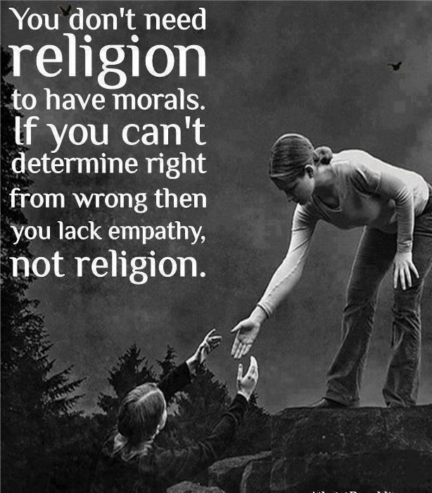 Twitter / Tesla_Lumen: you dont need religion to have ...