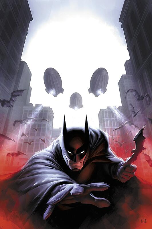 Twitter / AlexGarnerArt: My variant cover art to #Batman ...