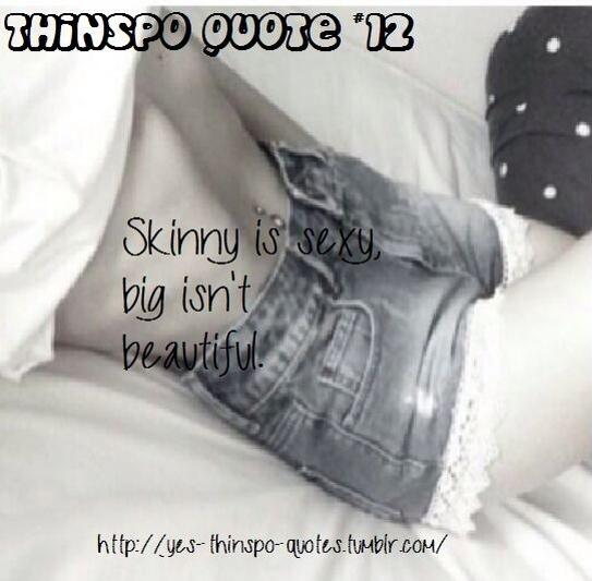 Thinspo Quotes YesThinspoQuote Twitter Simple Anorexia Quotes