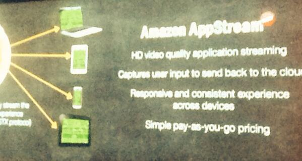 #reinvent launched AppStream for consistent experience across form factors.  Game  changer!!! http://t.co/gVCDWSysUg
