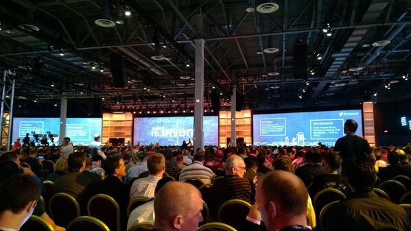 Day two begins at #reinvent http://t.co/ikrpjuLDGu
