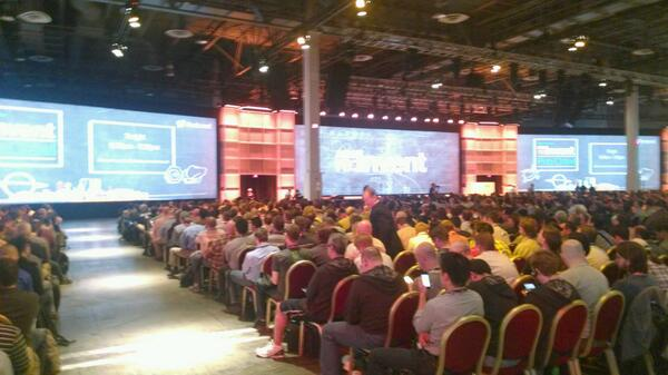 Neatly 9,000 in attendance for Amazon's #reinvent conference in Vegas #cloud http://t.co/1QGk9nxApW
