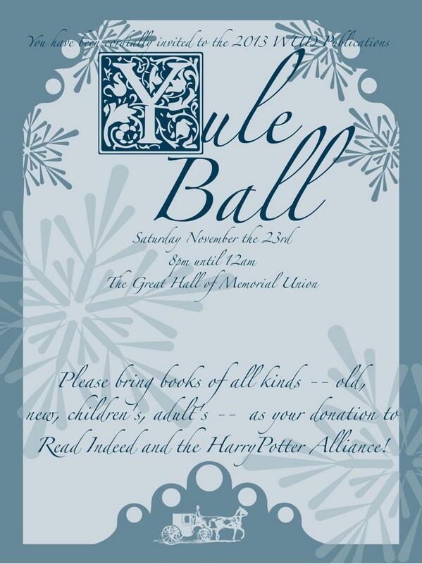 UW Yule Ball UWYuleBall Twitter