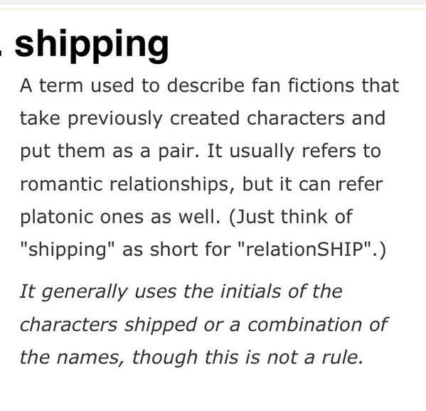 i ship you meaning