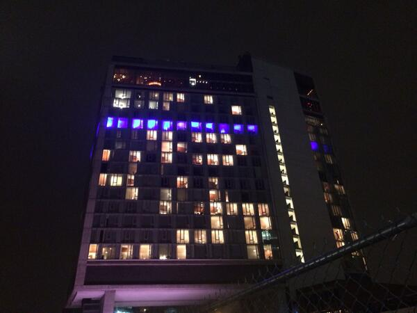 NYC Hotel Turns Into Giant PS4