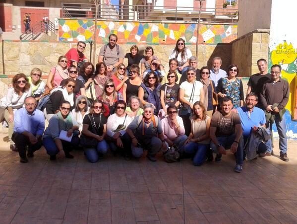 Finalizaron las visitas a proyectos de @CooperacionESP en Tanger.  #docentesEpD_AECID_MECD #educacionparaeldesarrollo http://t.co/J3HhCaBWO9