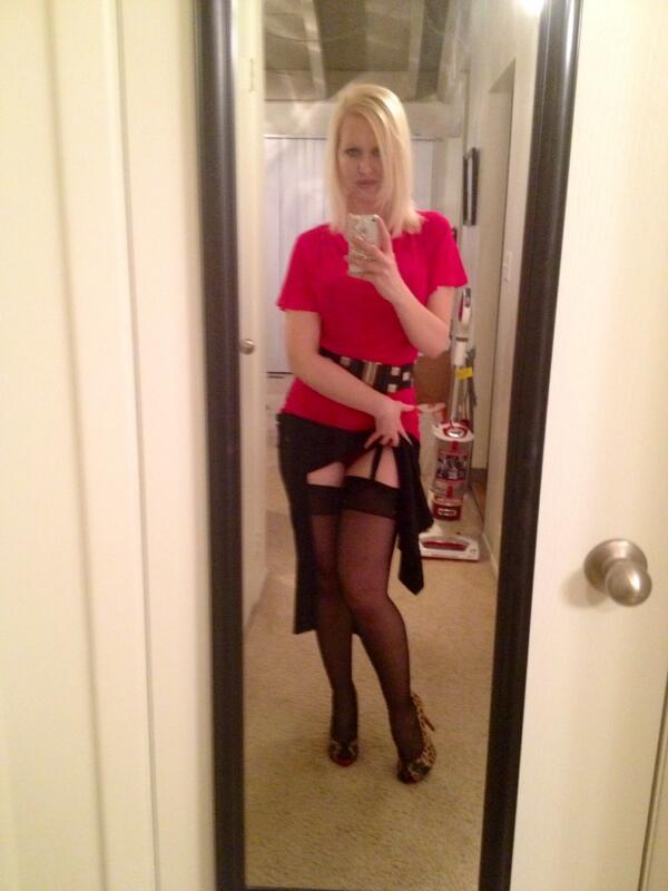 Tina grant in stockings 12