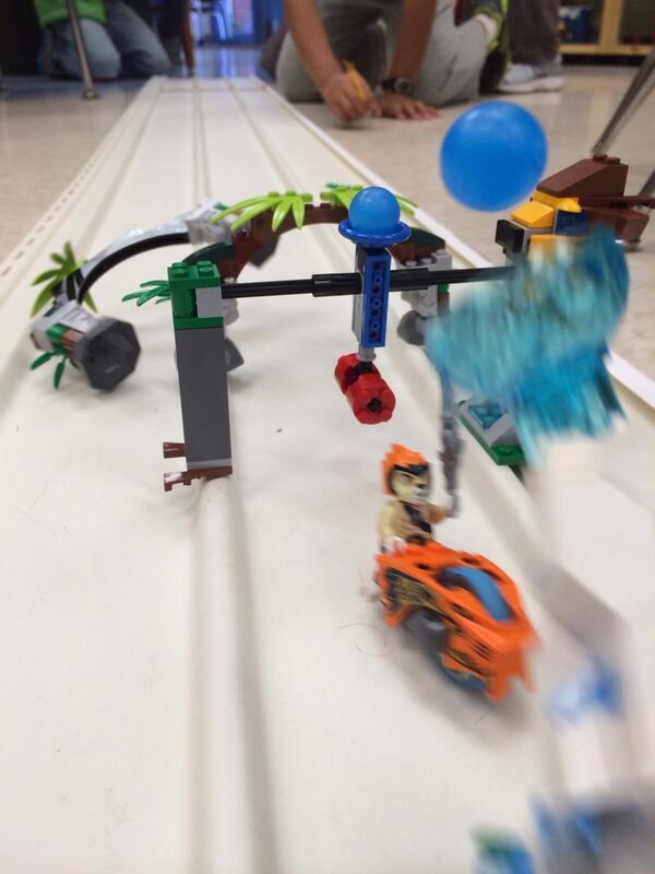 Racing Chima Speedorz at #Lego Club after school! @LEGO_Group @pammoran @CaleElementary @deninejones @MichaelCIrani http://t.co/k2mgUFIHn4