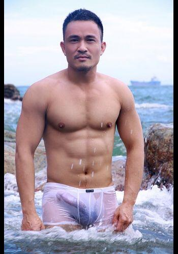 Chinese gay model