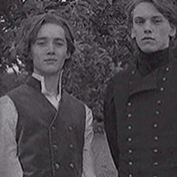��������������� ˘͵�˘� on twitter quotso toby regbo and jamie campbell