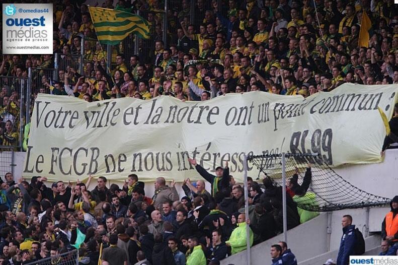 Nantes et Bordeaux dans le colimateur de la LFP