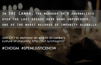 Help end the silence. Lend your voice for #SriLanka's journalists during #CHOGM. http://t.co/MckuFcU1PD http://t.co/miS66KPnda