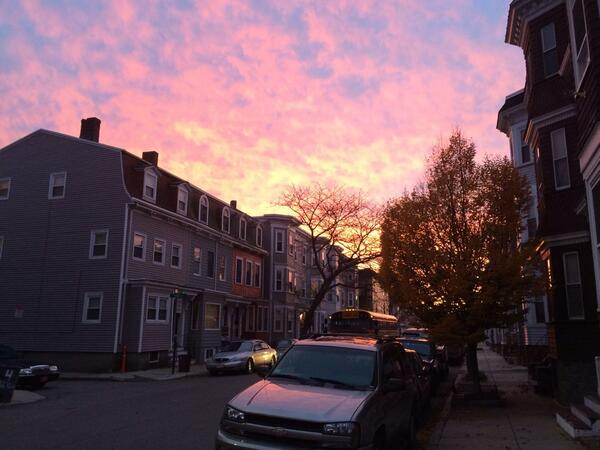 Thumbnail for Sunset in Boston, 11/12/13