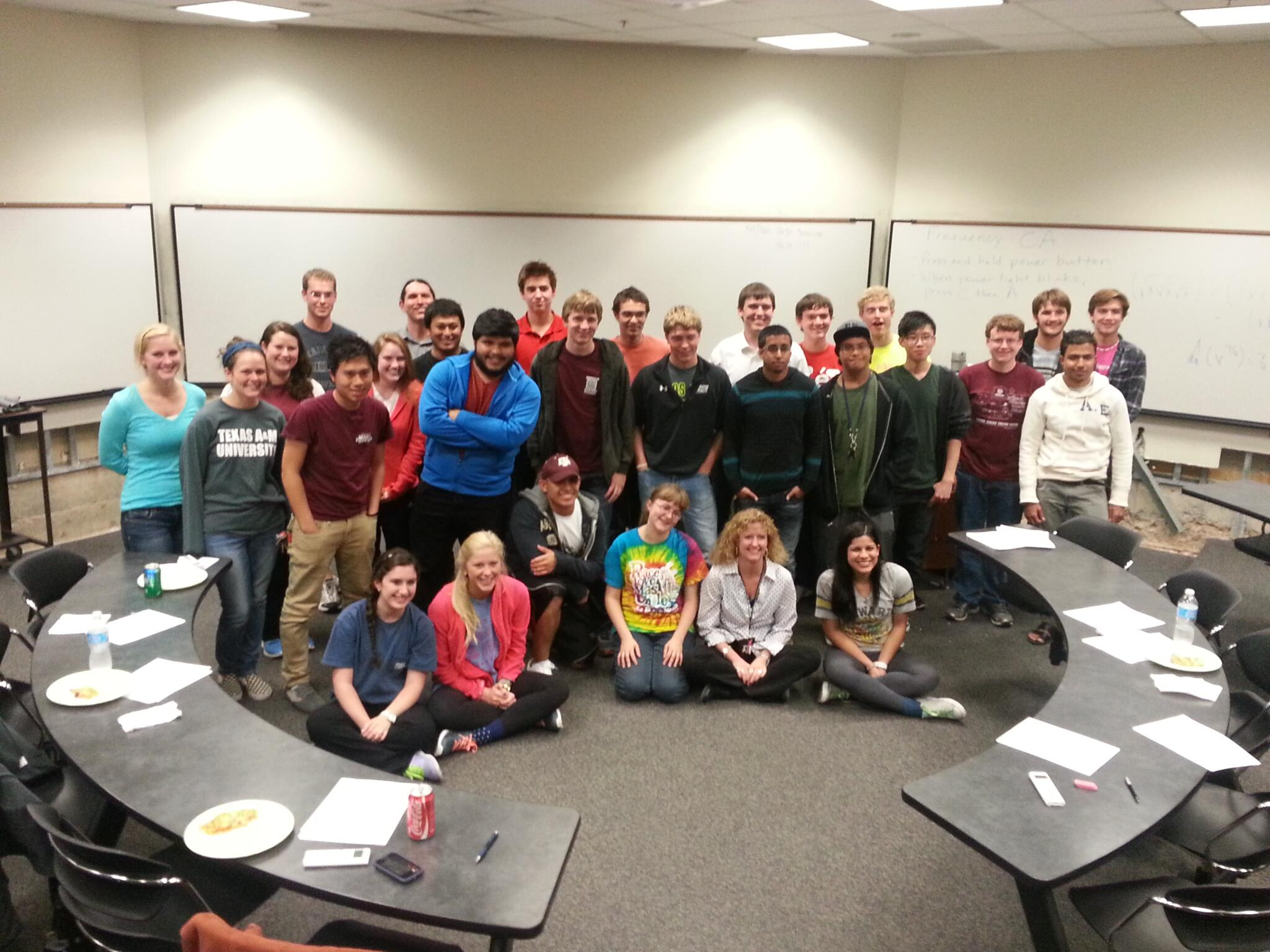 TAMU Math Derivative Bee 11/12/2013