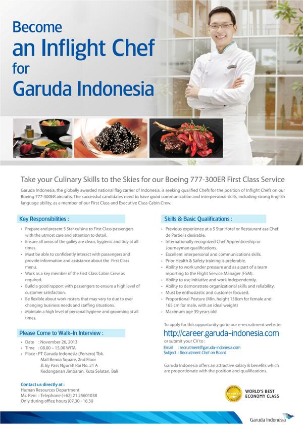 Job Vacancy Bali Indonesia