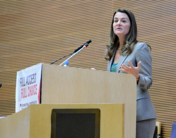 """@melindagates: """"We want to make sure that women have the ability to reach their dreams."""" #ICFPLive #familyplanning http://t.co/cGLh7uU4ov"""