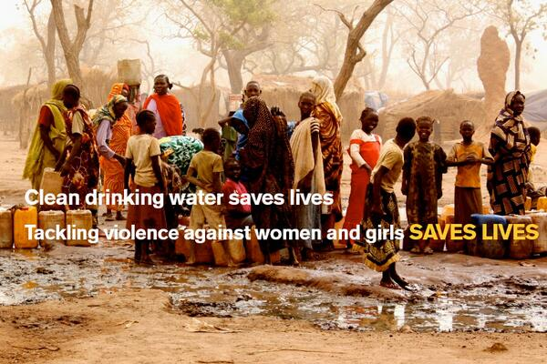 Helping protect women and girls in emergencies is as lifesaving as food, water and shelter. #keephersafe http://twitter.com/IRCuk/status/400604763017842688/photo/1